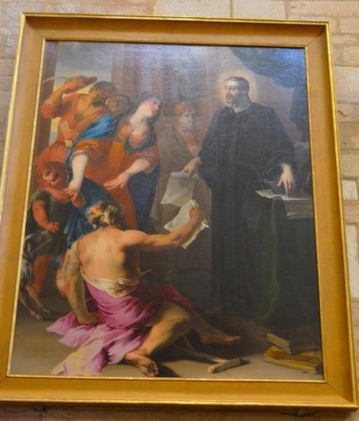 Tableau : saint Yves, vue générale