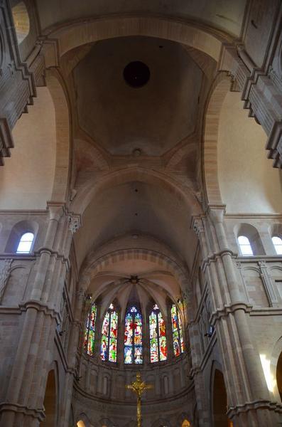 Voûte de la croisée du transept, vue générale