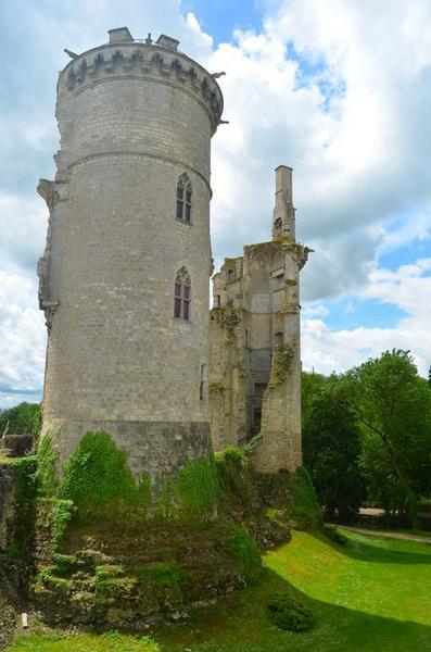 Vue générale  des ruines