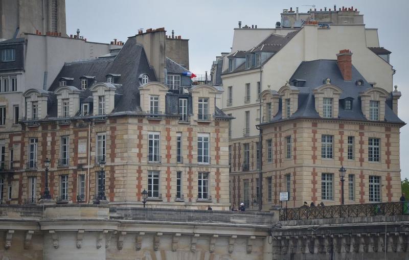 façades nord et ouest, vue générale