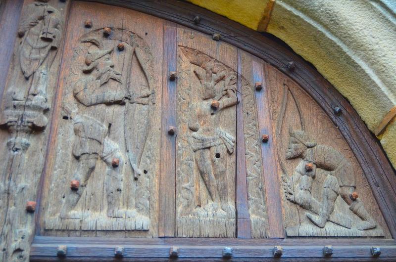 2 vantaux : saint Roch de Montpellier, offertoire (l'), saint Sébastien