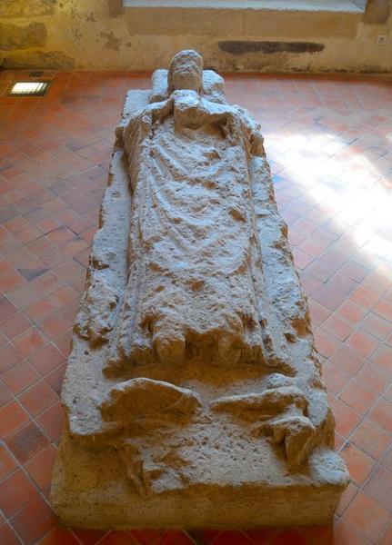 Tombeau (gisant), vue générale