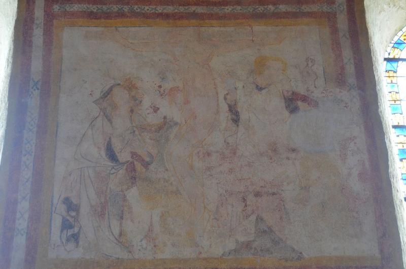 Peintures monumentales, détail: Crucifixion (la)