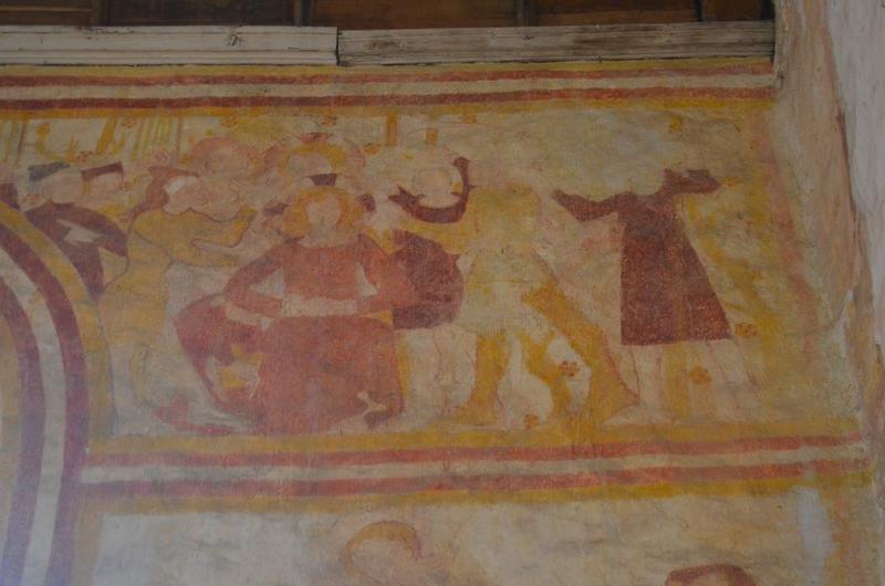 Peintures monumentales, détail: Christ aux outrages (le)