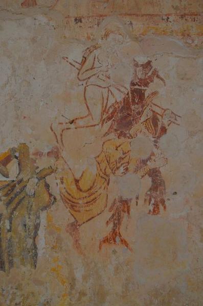 Peintures monumentales, détail: Jugement dernier