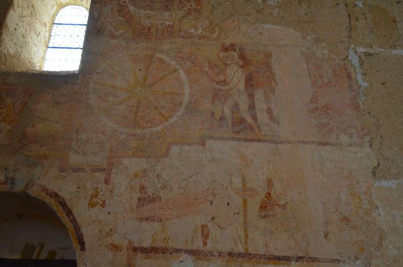 Peintures monumentales, vue partielle: l'Enfer