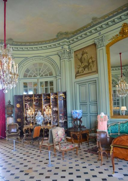 Grand salon, vue partielle
