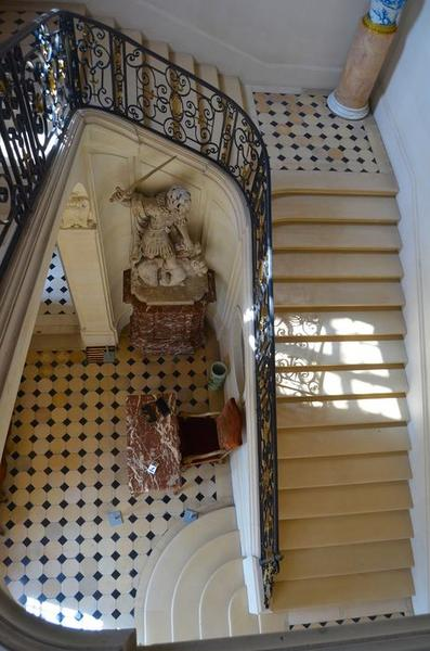Escalier monumentale, vue partielle