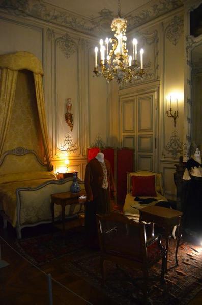 Chambre de monsieur et madame, vue partielle