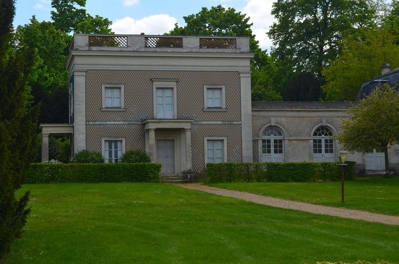 Maison des jardiniers, façade nord, vue générale