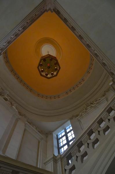 Escalier d'honneur, vue partielle