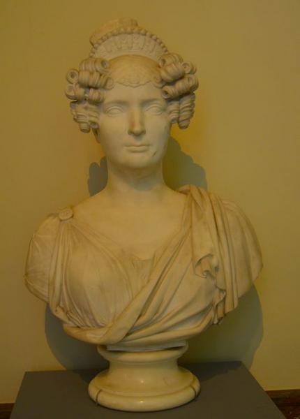 buste de Zoé-Victoire Talon, comtesse du Cayla, vue générale