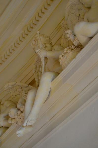 Escalier d'honneur, détail