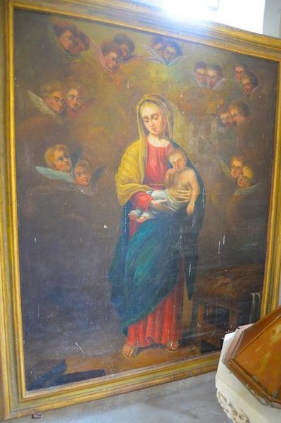 tableau : Vierge à l'Enfant