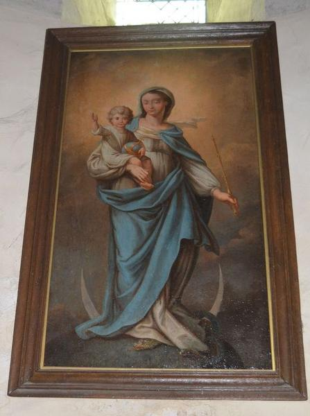Tableau: Vierge de l'Immaculée conception, vue générale