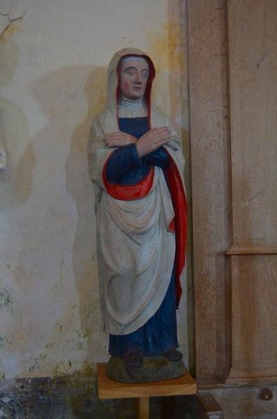 Statue: Vierge de calvaire, vue générale