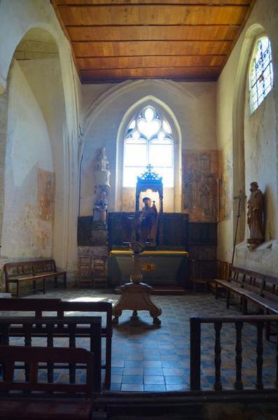 Chapelle sud, vue générale