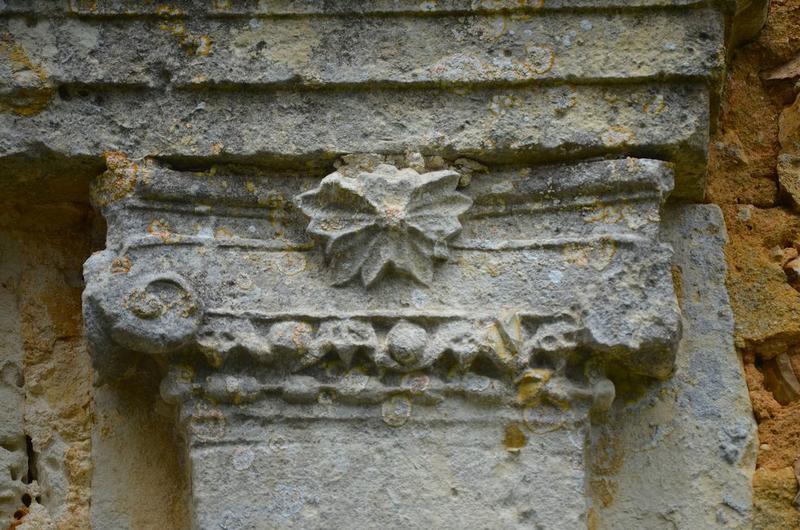 Porte d'accès sud, détail