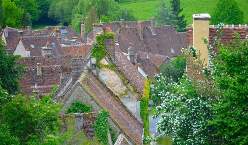 Vue générale des toits