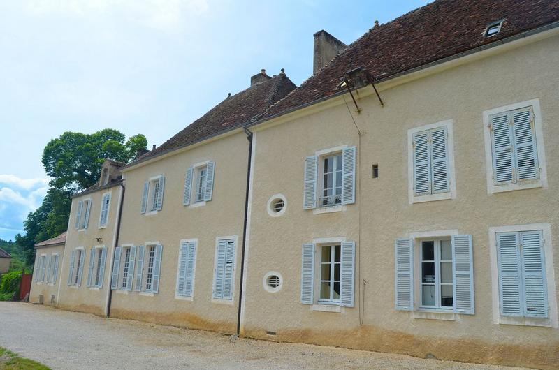 Maisons du maître de forge et du régisseur, façades sud, vue générale