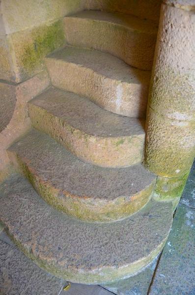 Haut fourneau, détail, escalier secondaire