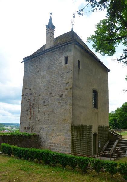 Tour de Laubespin, façades nord et ouest, vue générale