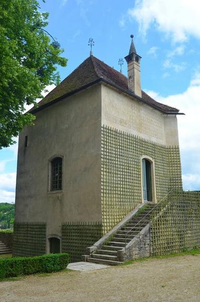 Tour de Laubespin, façades sud et ouest, vue générale