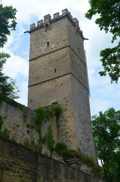 Tour du château, vue générale