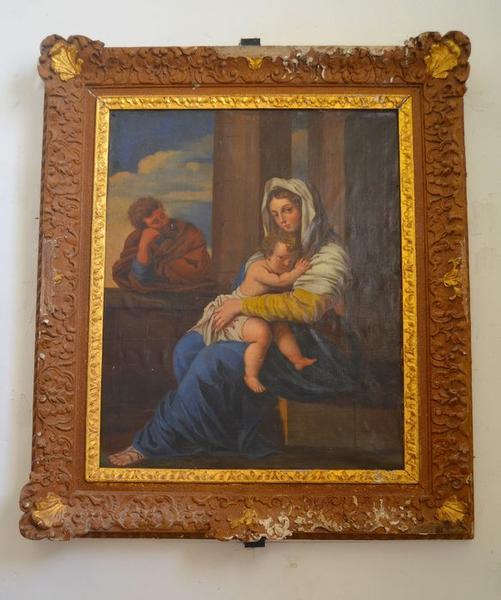 Tableau: Vierge à l'enfant, vue générale