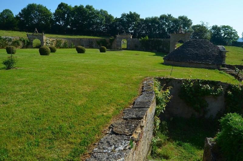 Ancien jardin, vue partielle