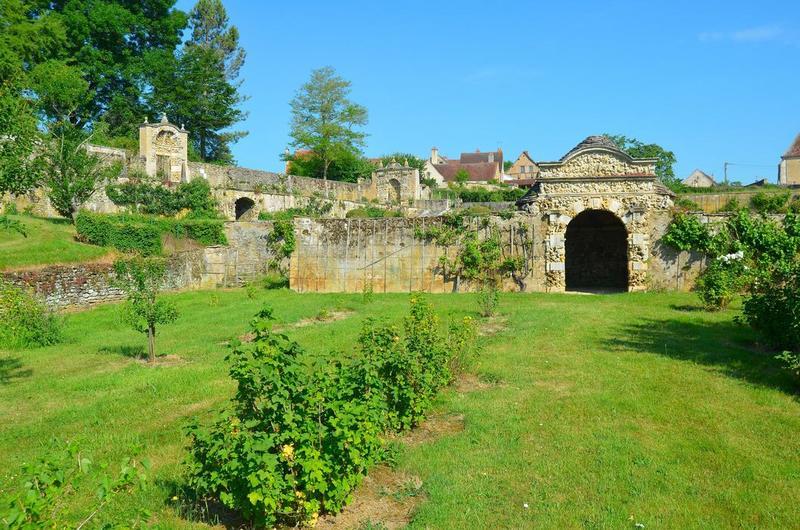 Ancien jardin, vue générale