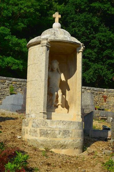 Statue : Christ de Pitié, vue générale dans son édicule