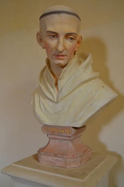 Buste: saint Bernard, vue générale