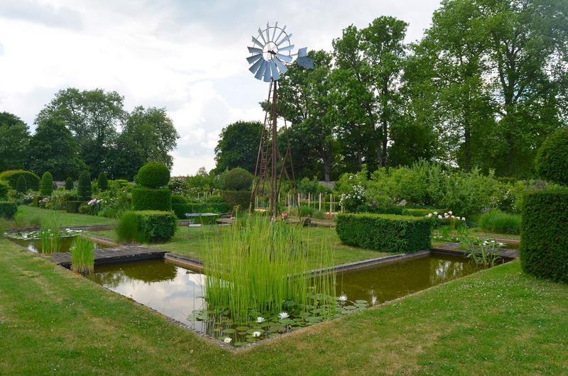 jardins sud, vue générale