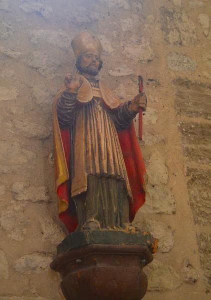 Statue:évêque non identifié, vue générale
