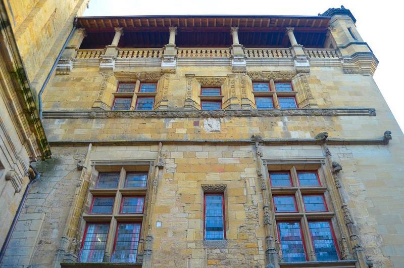 façade nord, vue partielle