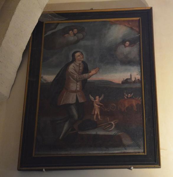 tableau : saint Isidore, vue générale