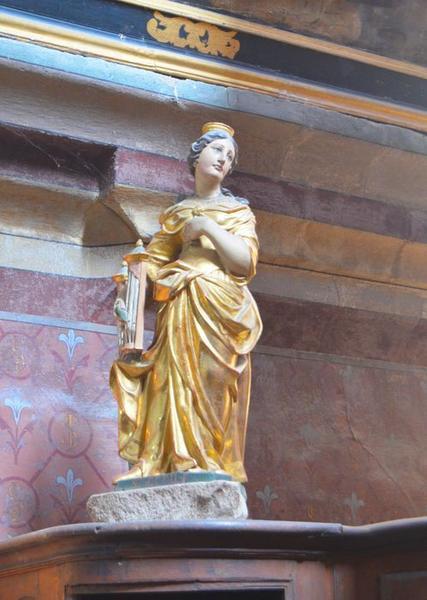 Statue : Sainte Cécile