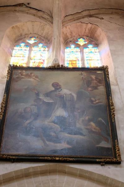 Tableau : Apothéose de saint Pierre Fourrier