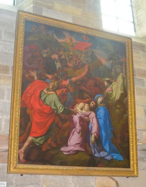 Tableau : Christ et sainte Véronique (Le)