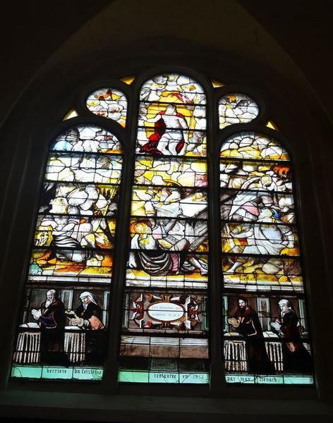 Verrière : la Résurrection