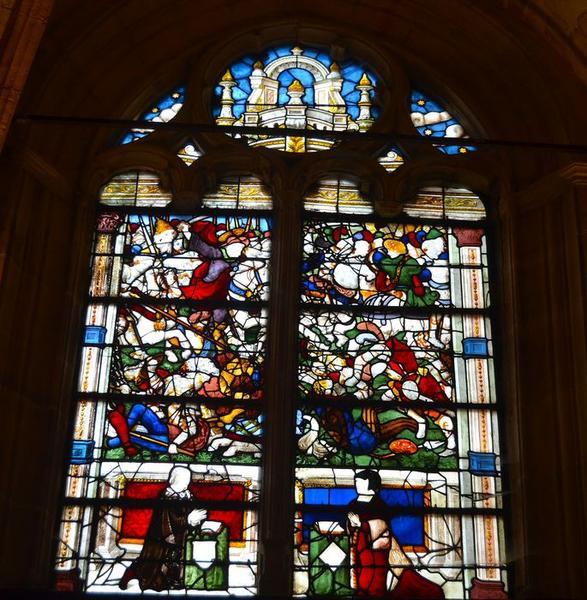Verrière : Bataille de saint Jacques, miracle (La)