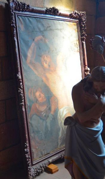 Tableau : Saint Sébastien soigné par Irène