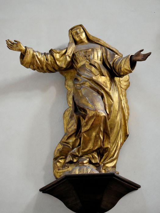 statue : Sainte Jeanne de Chantal