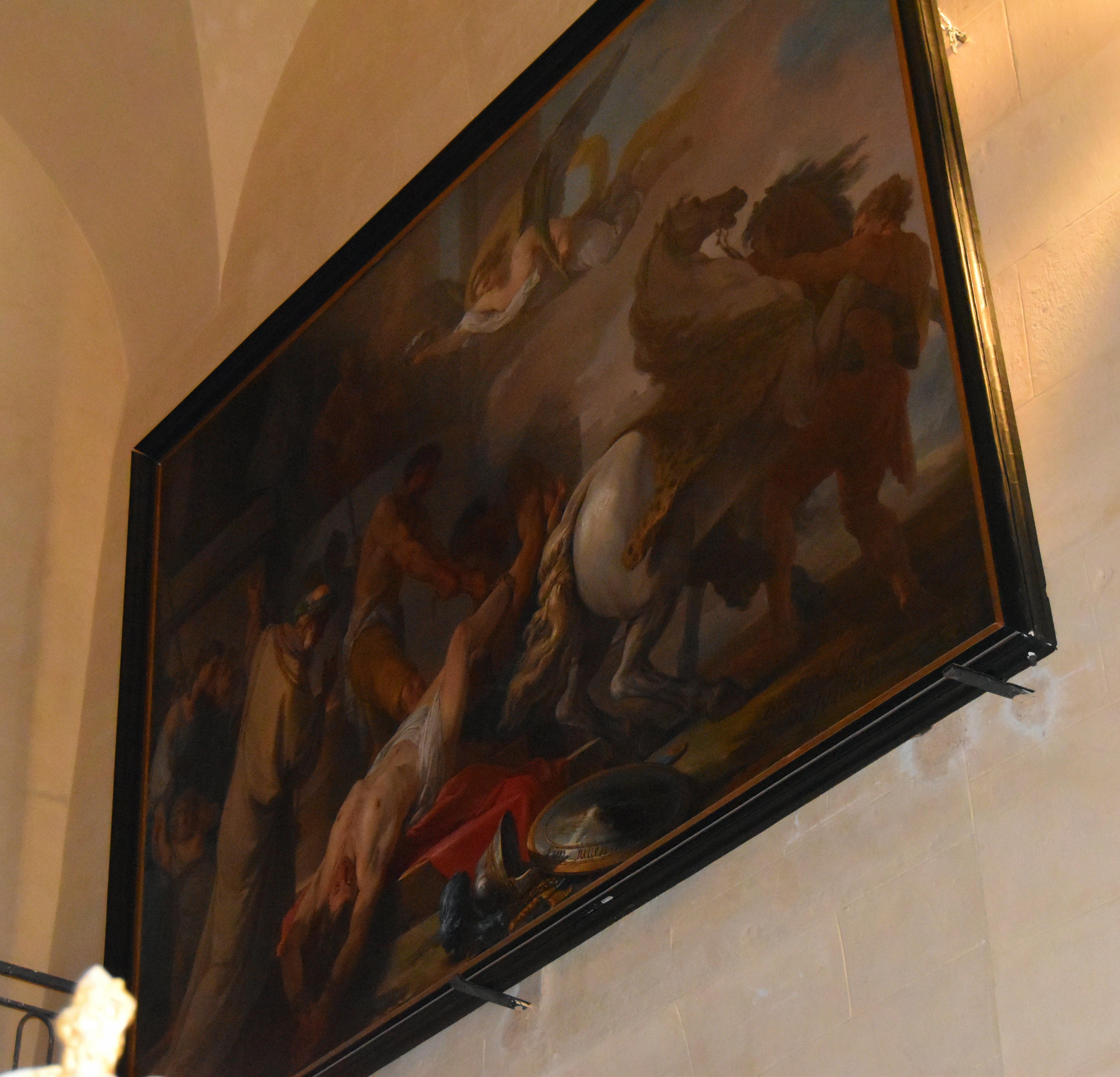 tableau : Le Martyre de saint Hippolyte