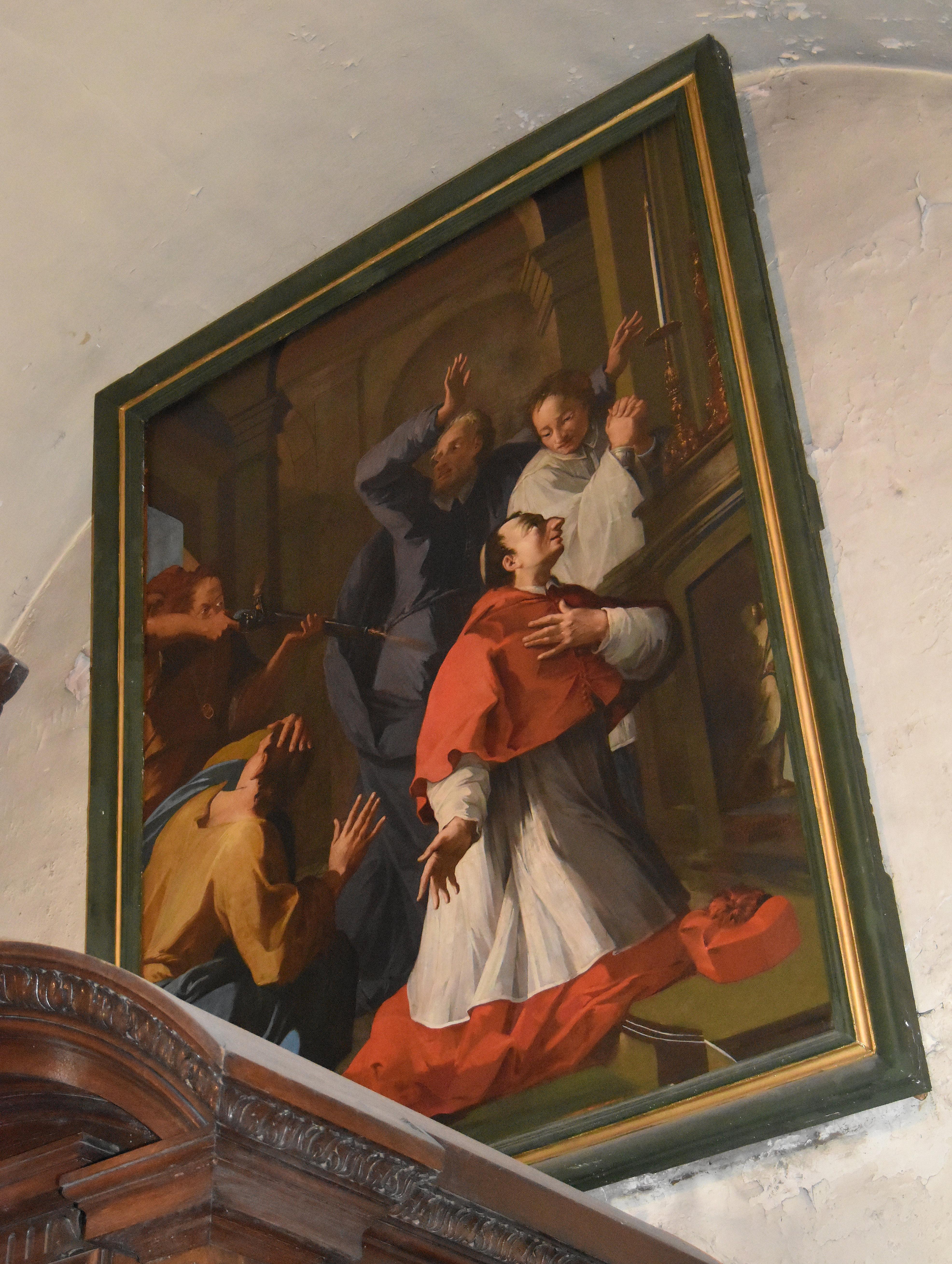 tableau : La Messe de saint Charles Borromée
