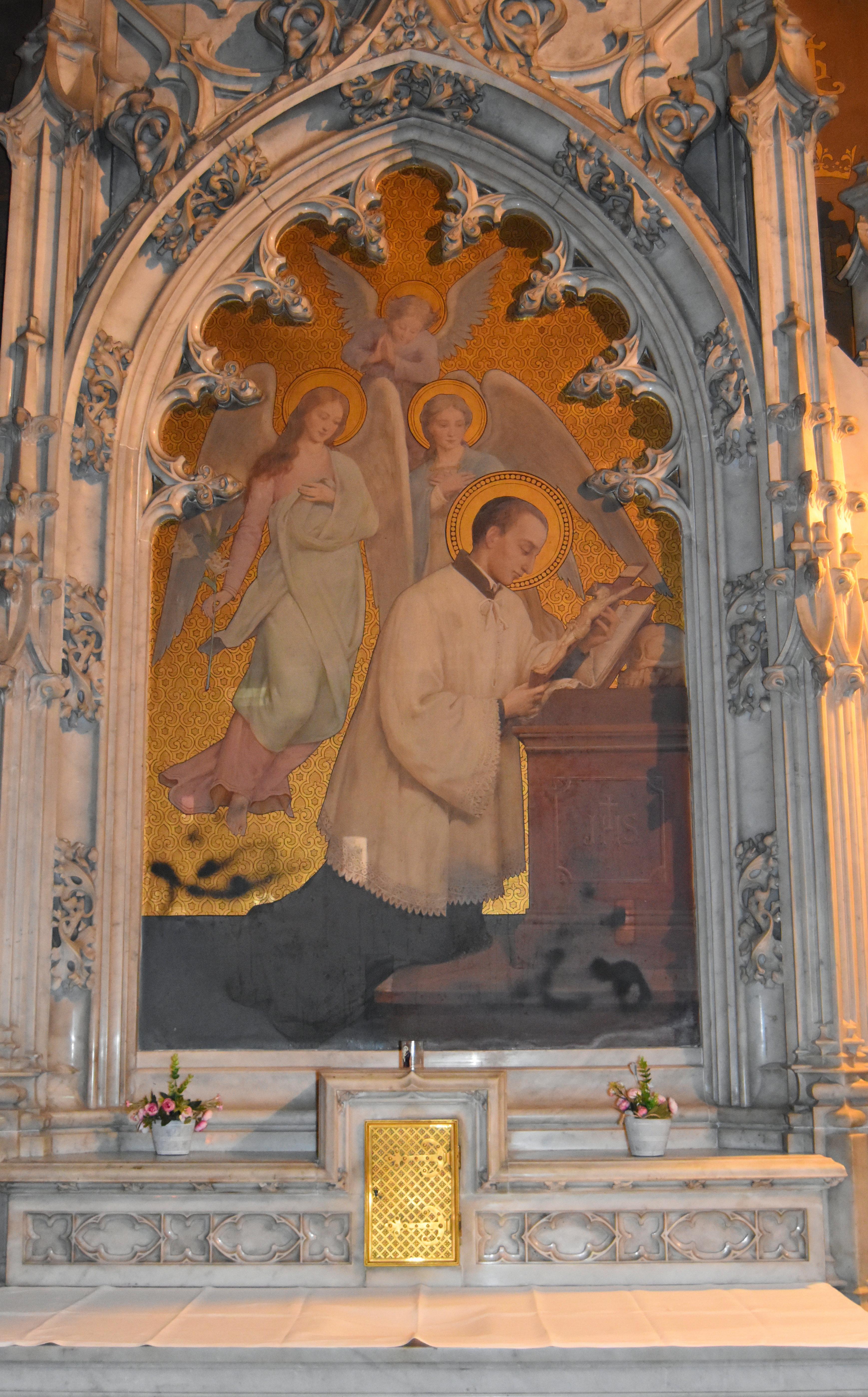 Tableau : Saint Louis de Gonzague