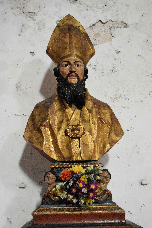 Buste-reliquaire : Saint Clair
