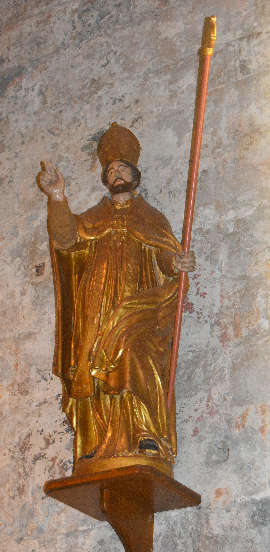 Statue : saint Éloi évêque