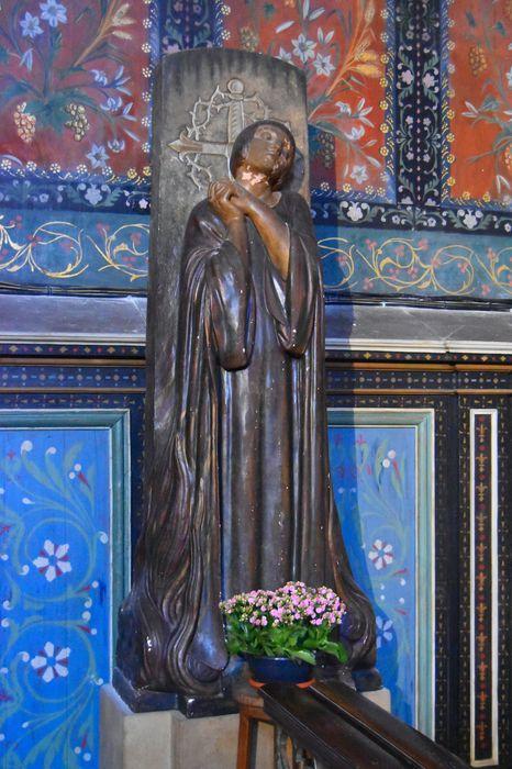 Statue : Jeanne d'Arc au bûcher